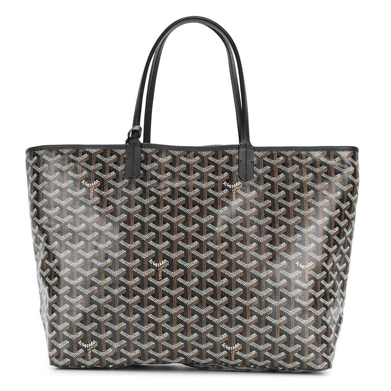 Goyard Customized Black 'Splattered Paint Love' Monogram St Louis PM Bag In New Condition For Sale In London, GB