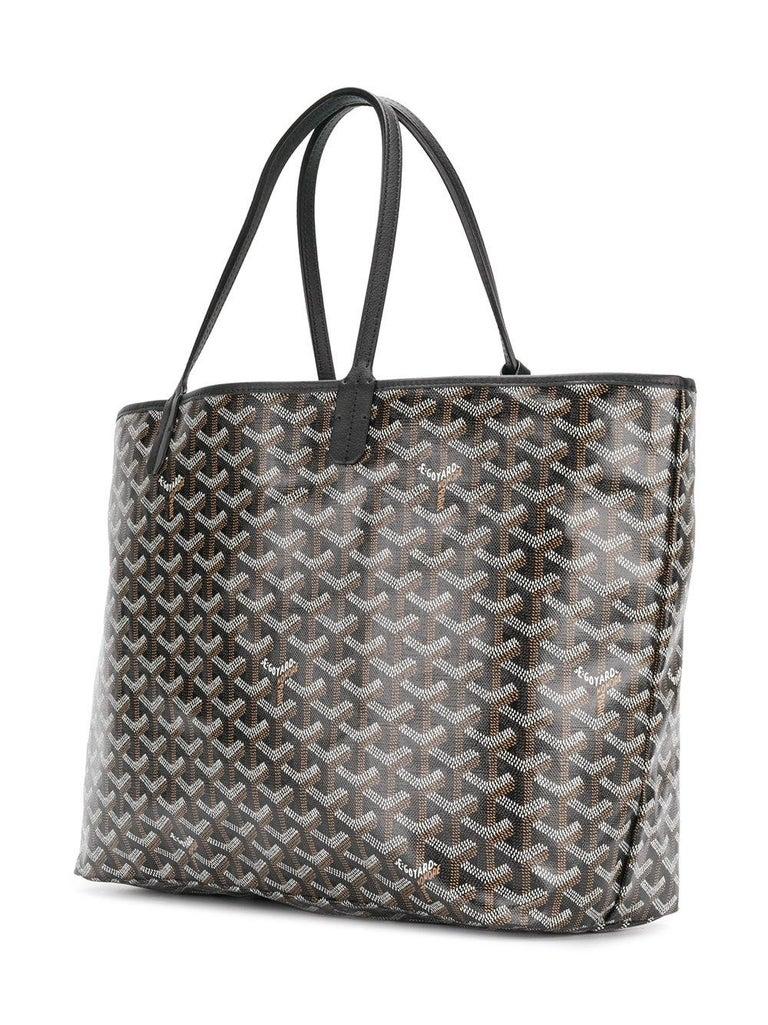 Women's  Goyard Customized Black 'Splattered Paint Love' Monogram St Louis PM Bag For Sale