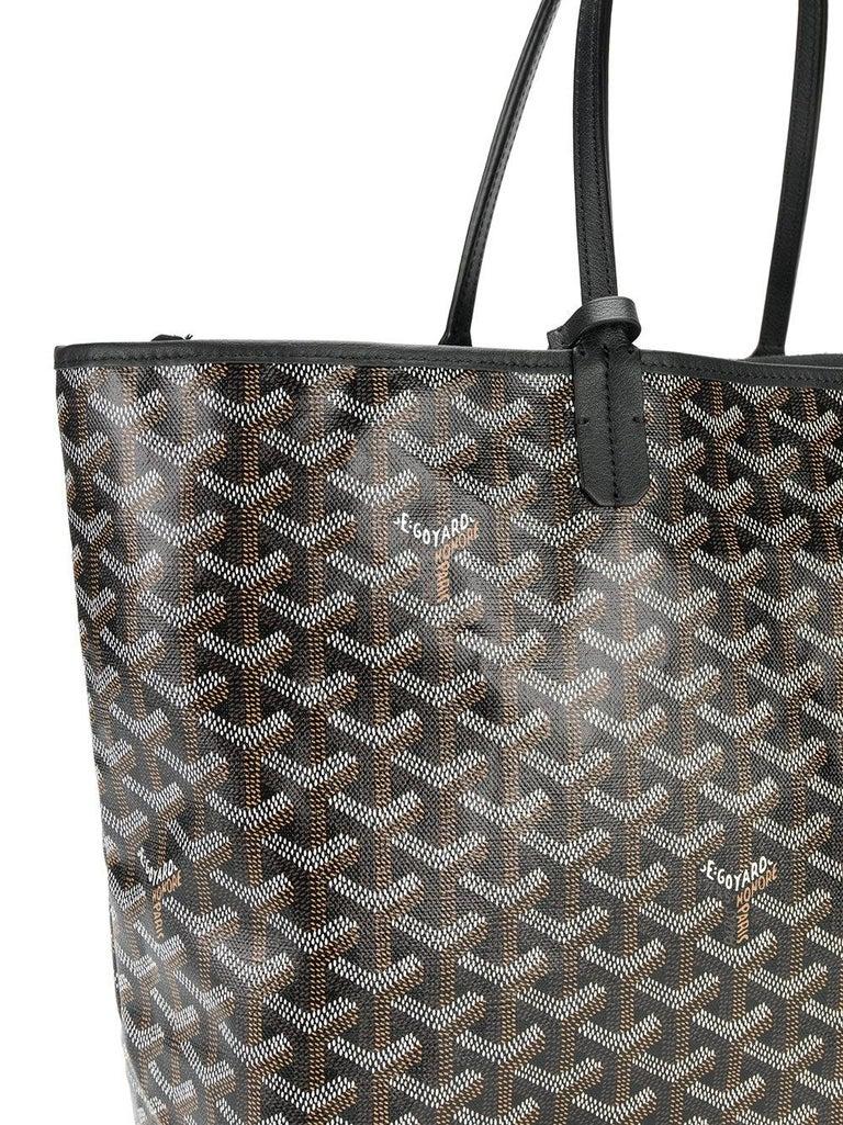 Goyard Customized Black 'Splattered Paint Love' Monogram St Louis PM Bag For Sale 1