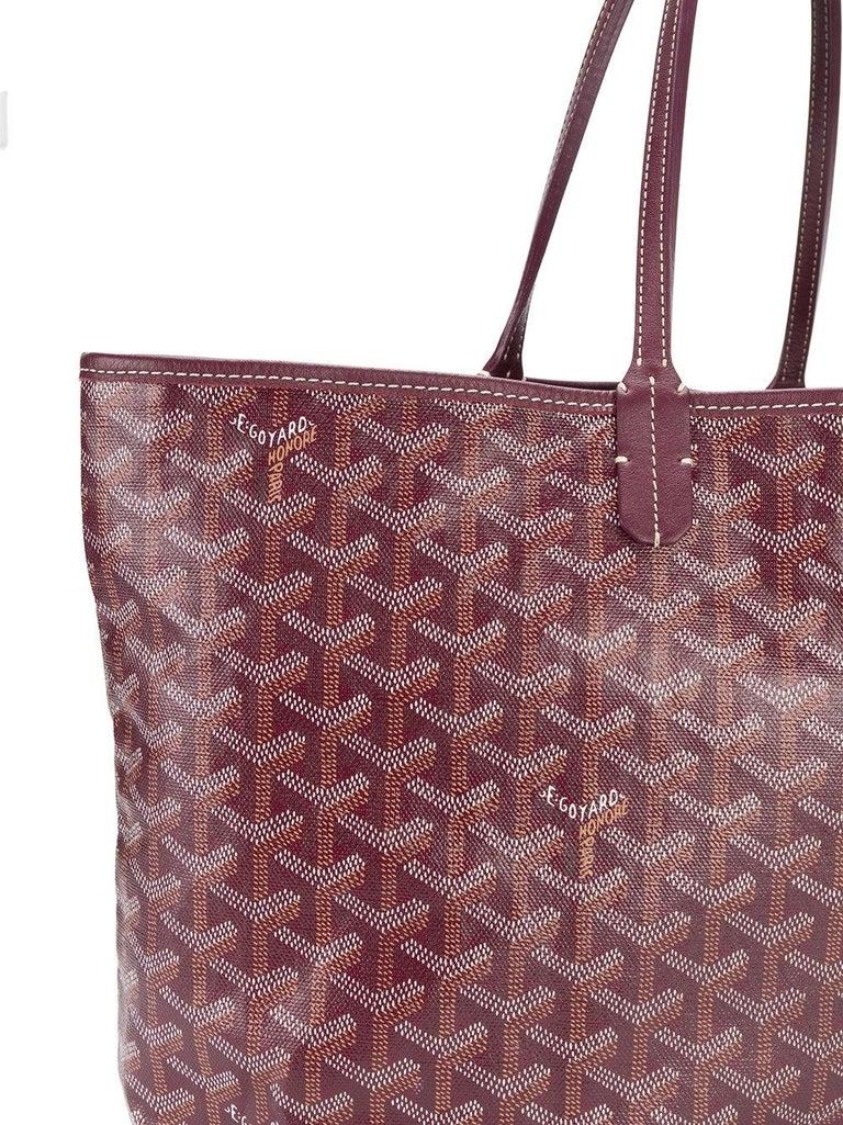 Goyard Customized Bordeaux 'Butterflies' Monogram St Louis PM Bag For Sale 1