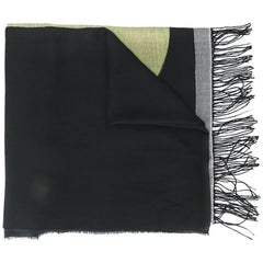 Chanel Cashmere Patterned Scarf