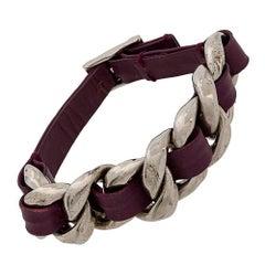 Chanel Woven Leather Bracelet