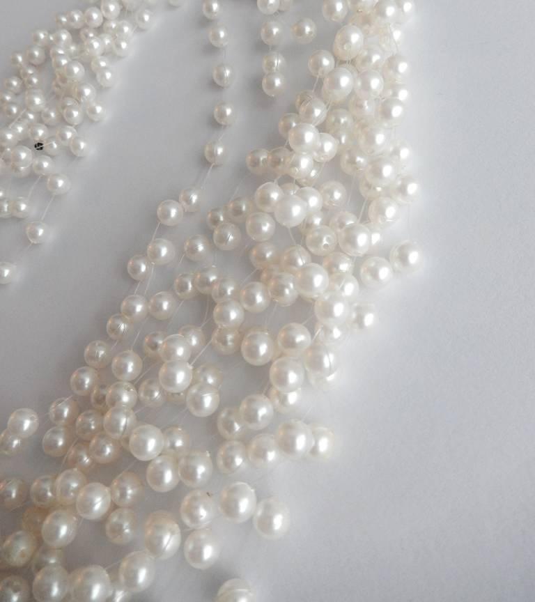 Langani Multi-Strand Pearl Necklace, 1970s 6