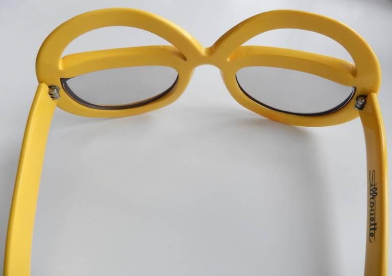 1970s Futuristic Sunglasses by Silhouette 3