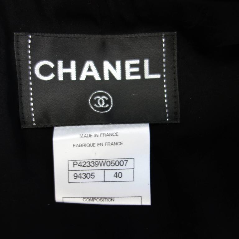 Chanel 11A Black Lesage Lace Runway Jacket Size 40 5