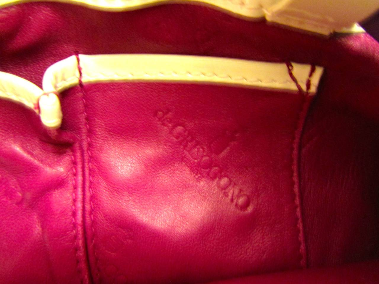De Grisogono Geneve Couture Hand Bag - Green, White, and Purple For Sale 1