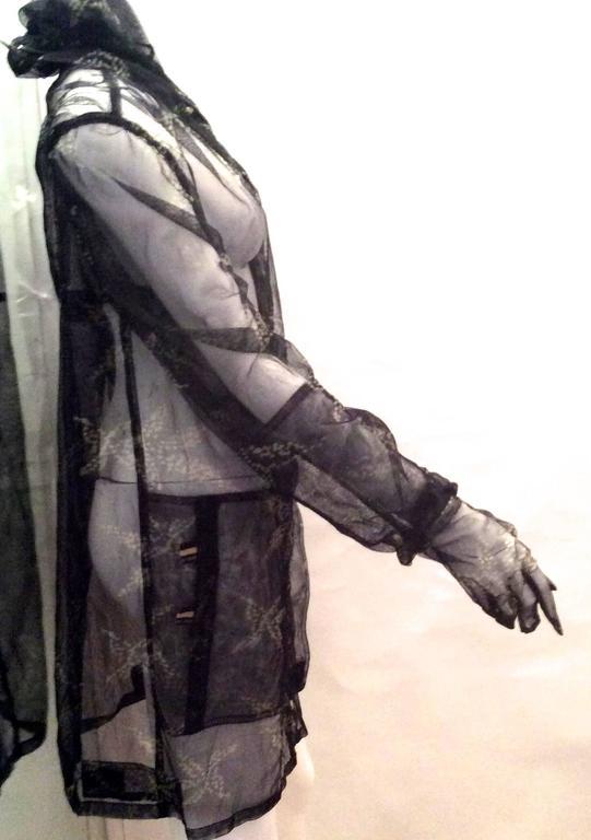 Fendi Runway Mesh Jacket 3