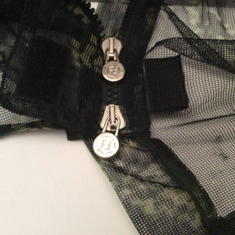 Fendi Runway Mesh Jacket 7