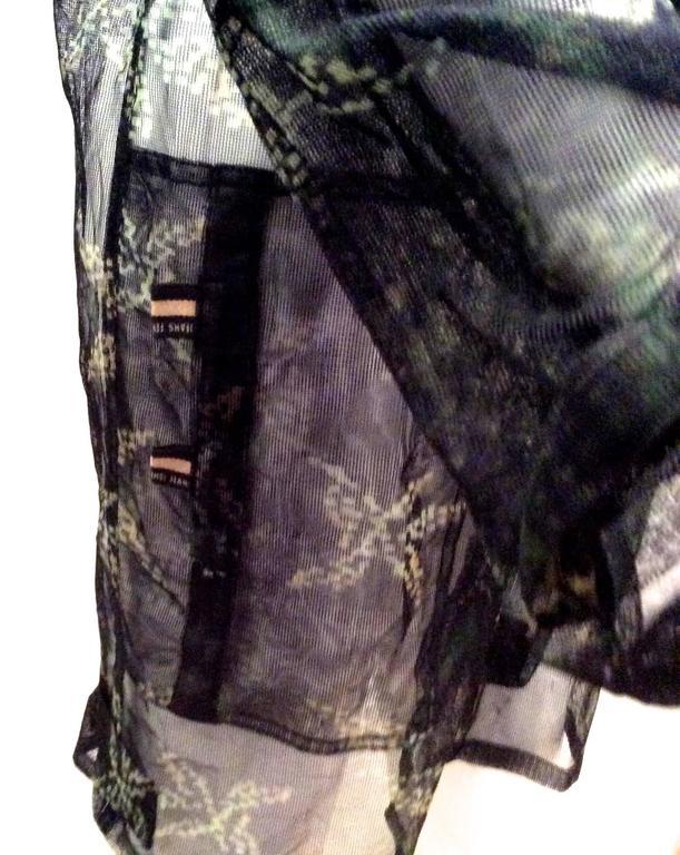 Fendi Runway Mesh Jacket 10