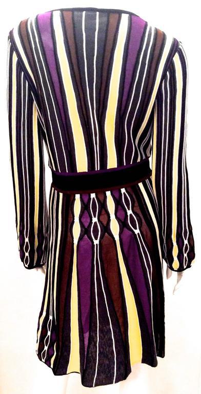 Black Fabulous Missoni Dress For Sale