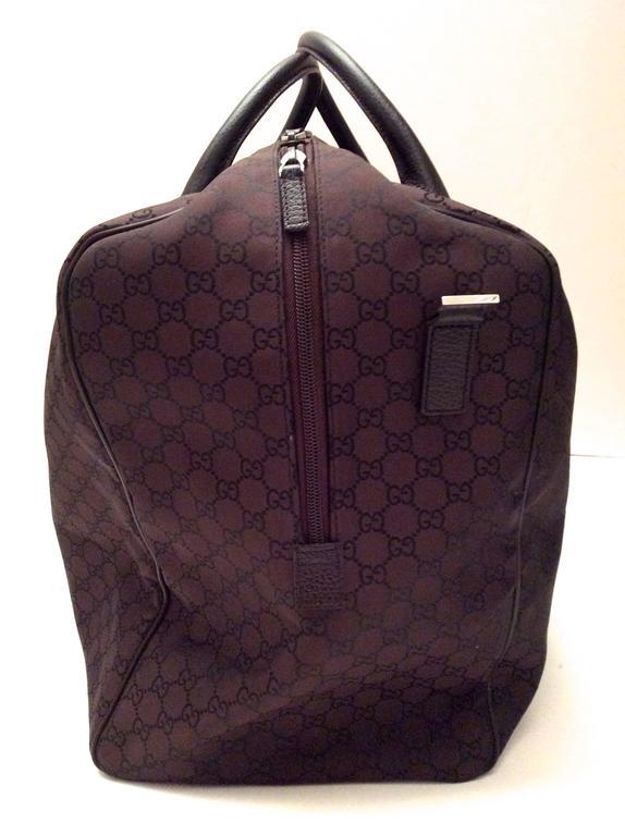 Fabulous Gucci Travel Bag At 1stdibs