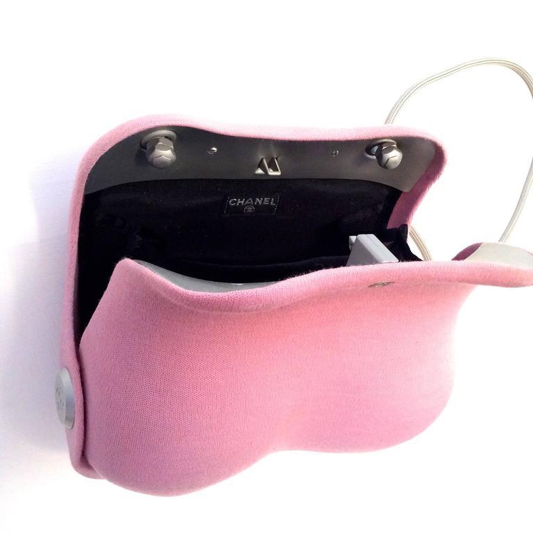 Chanel Pink Butt Bag  9