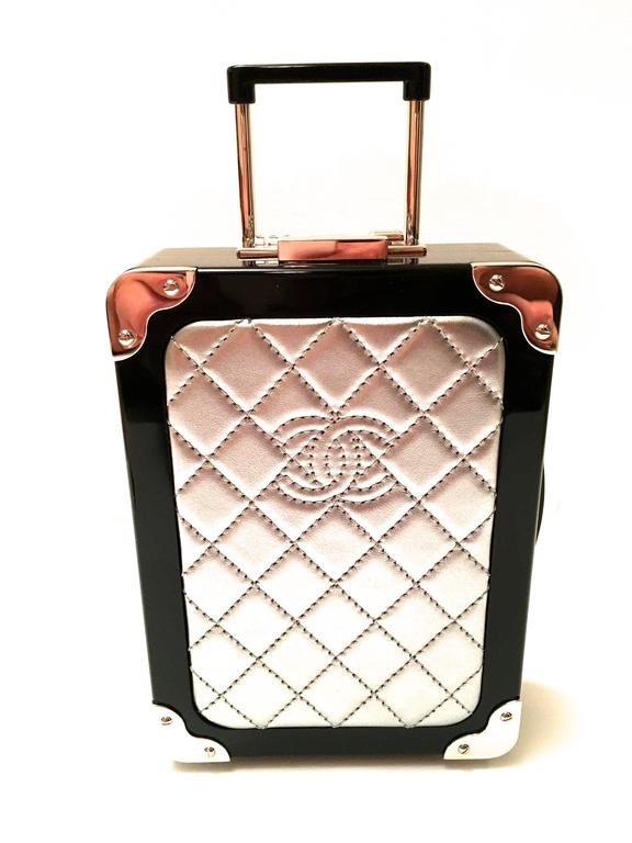 Rare Chanel Runway Purse - Carry-on Bag - Airline Collection 2016 6