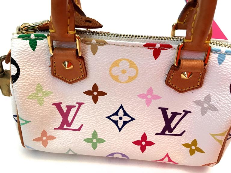 Louis Vuitton Mini Keepall w/ Shoulder Strap 9