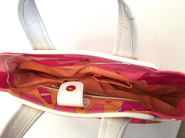 Emilio Pucci Hat and Matching Handbag 2