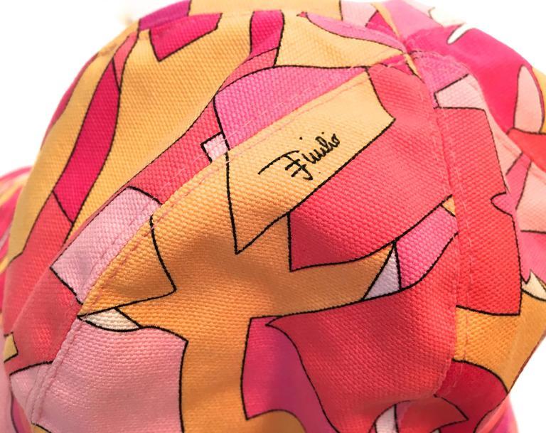 Emilio Pucci Hat and Matching Handbag 4