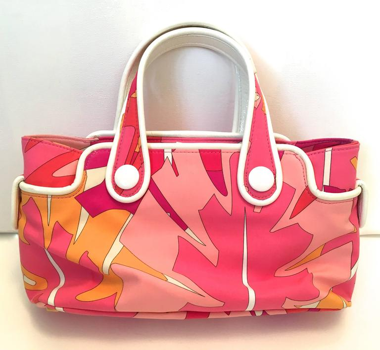 Emilio Pucci Hat and Matching Handbag 5