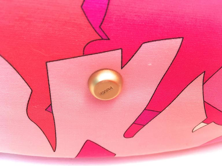 Emilio Pucci Hat and Matching Handbag 7