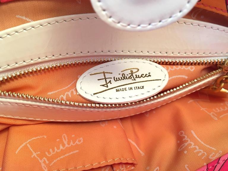 Emilio Pucci Hat and Matching Handbag 8