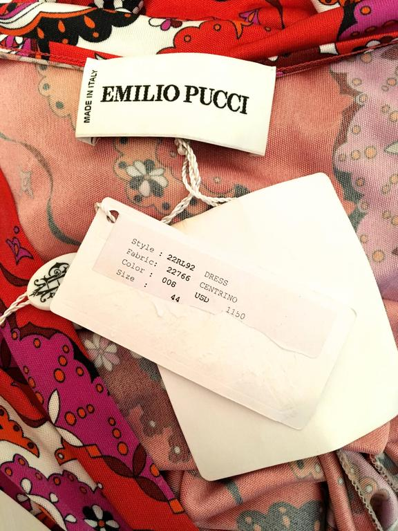 New Emilio Pucci Sleeveless Day Dress  For Sale 3