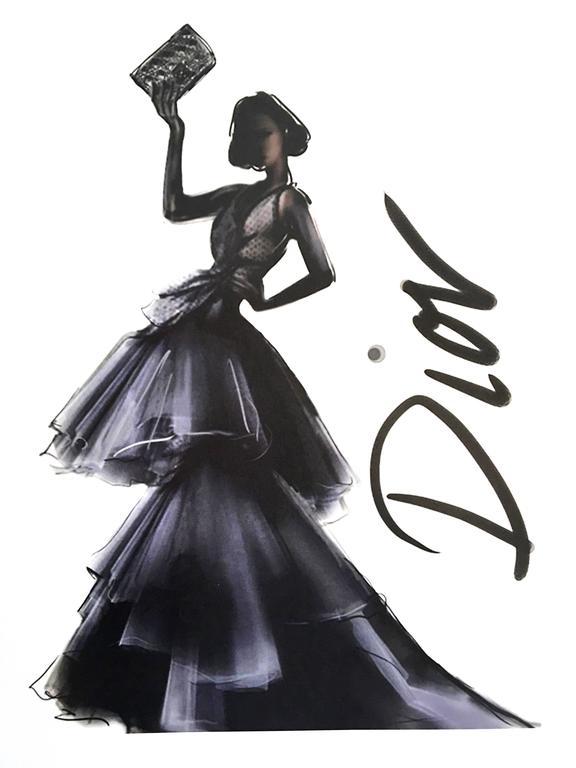 Christian Dior Vintage Ad Print 3