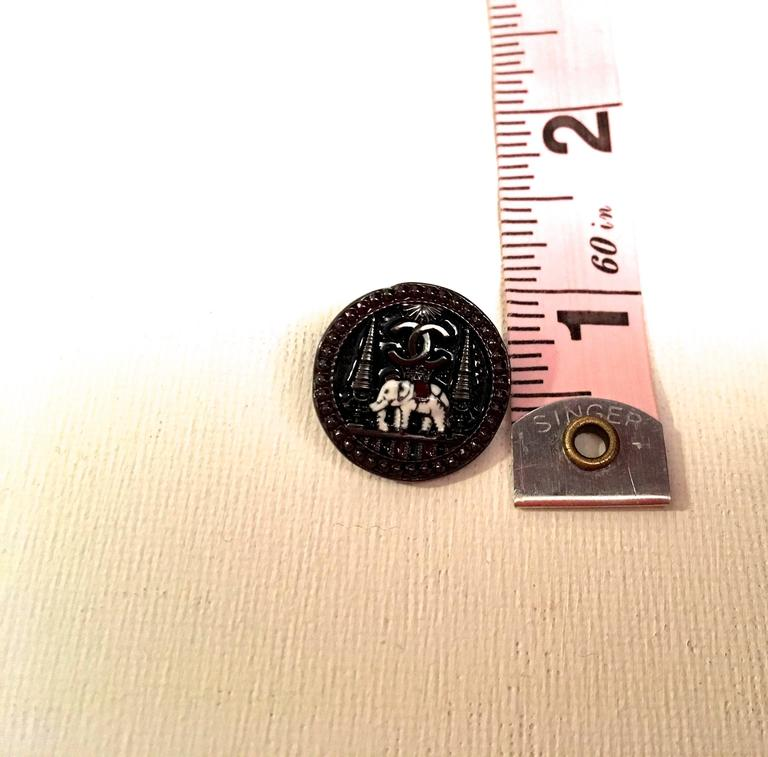 Set of 9 Chanel Buttons 5