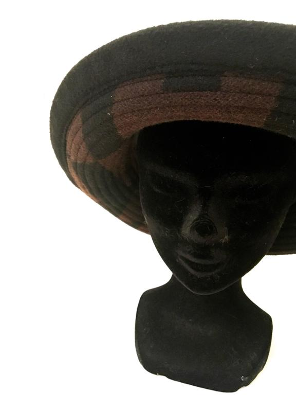 Rare Hermes Hat - Size 58 For Sale 2
