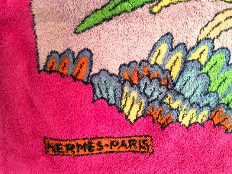 Rare Hermes Beach Towel  8