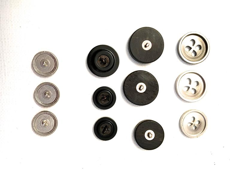 Set of Twelve Chanel Buttons  3
