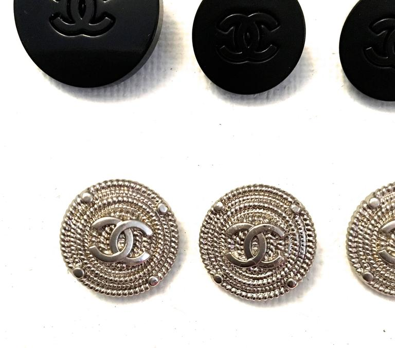 Set of Twelve Chanel Buttons  4