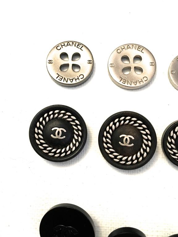 Set of Twelve Chanel Buttons  5