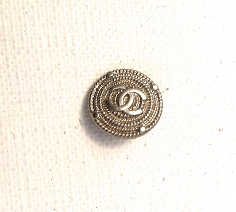 Set of Twelve Chanel Buttons  6