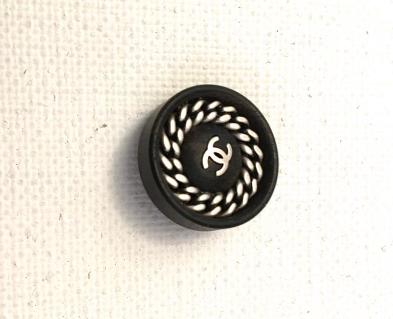 Set of Twelve Chanel Buttons  7
