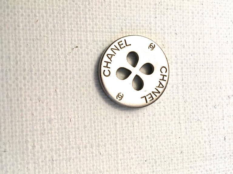 Set of Twelve Chanel Buttons  8