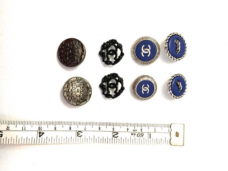 Chanel Buttons - Lot of 8 Assorted Buttons 3