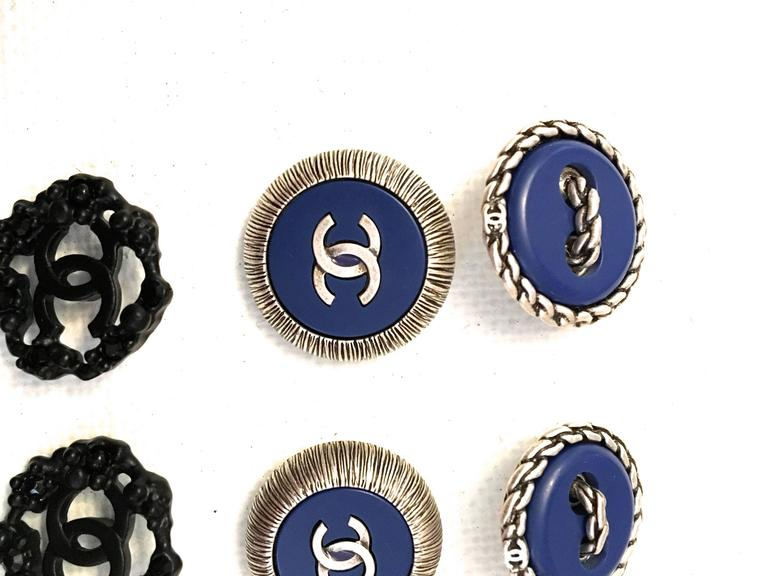 Chanel Buttons - Lot of 8 Assorted Buttons 5