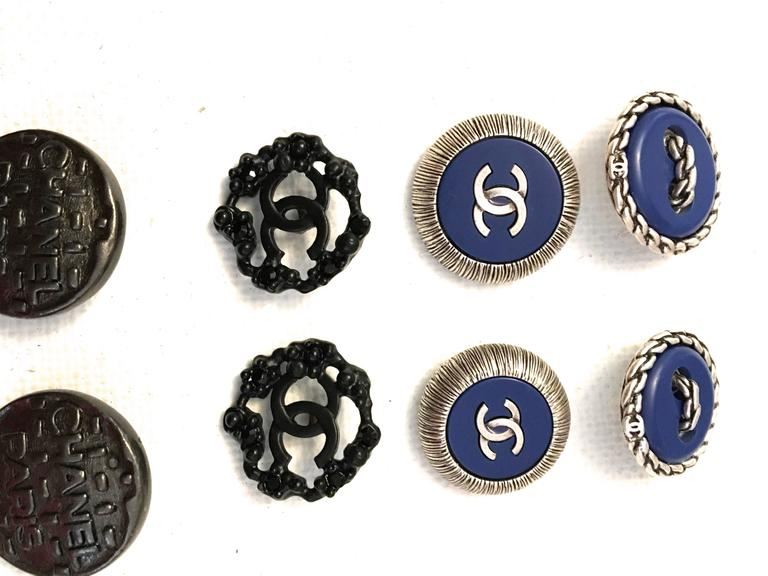 Chanel Buttons - Lot of 8 Assorted Buttons 6