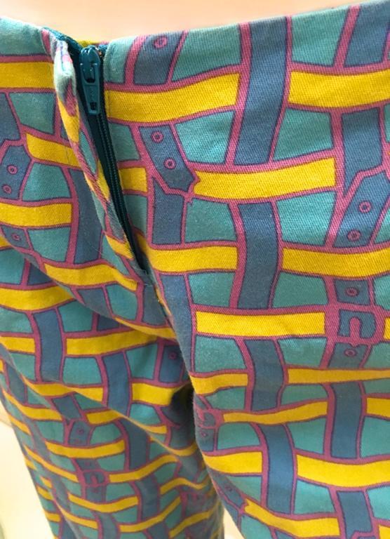Vintage Roberta di Camerino Pants - Ladies 1980's Cotton  For Sale 1