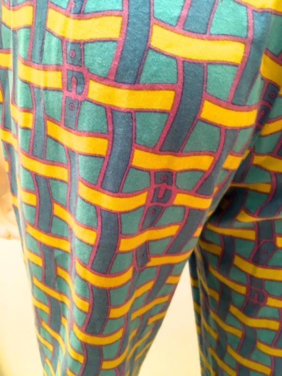 Vintage Roberta di Camerino Pants - Ladies 1980's Cotton  For Sale 2