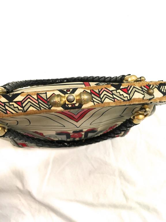 Women's or Men's Rare Emilio Pucci Purse - 1960's For Sale