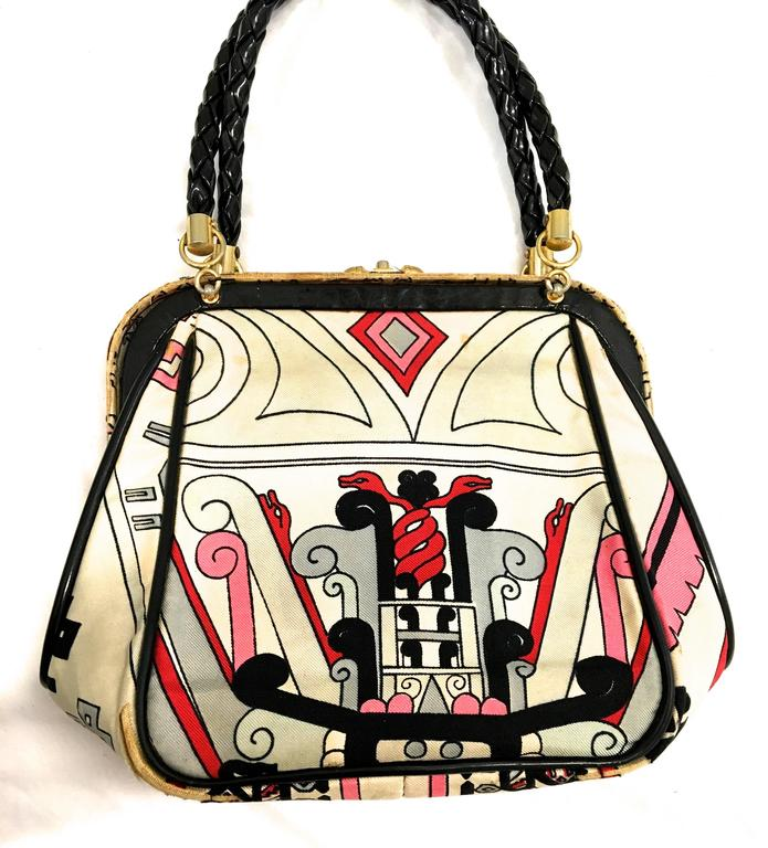 Rare Emilio Pucci Purse - 1960's For Sale 1