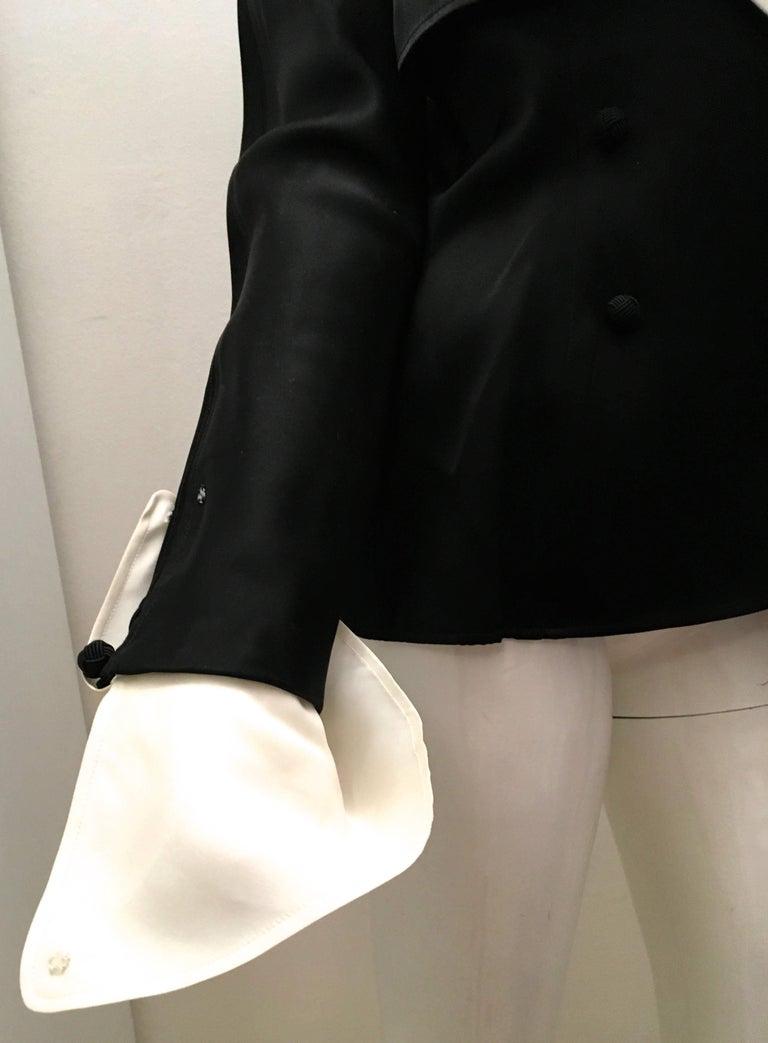 Jean Louis Scherrer Dinner Jacket In Excellent Condition For Sale In Boca Raton, FL