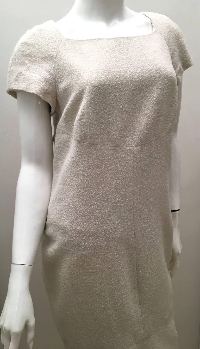 Gray Chanel Dress Size 38  For Sale
