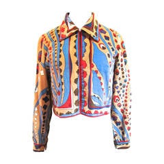 Averardo Bessi Velvet Blazer - Bolero - C 1970