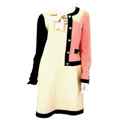 Moschino Runway Dress with Chanel Style Half Jacket