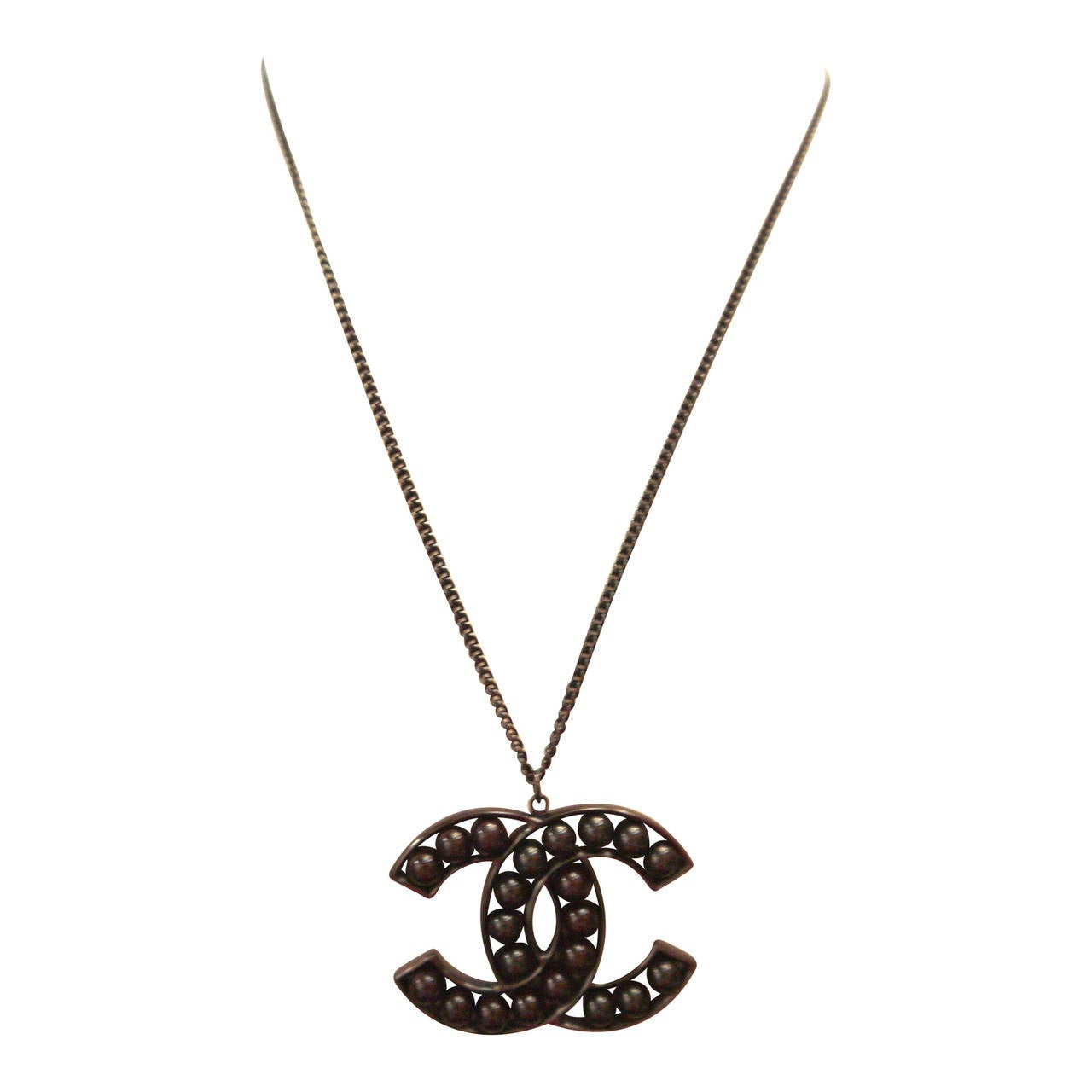 Chanel Necklace - Large Logo CC - New Collection 1
