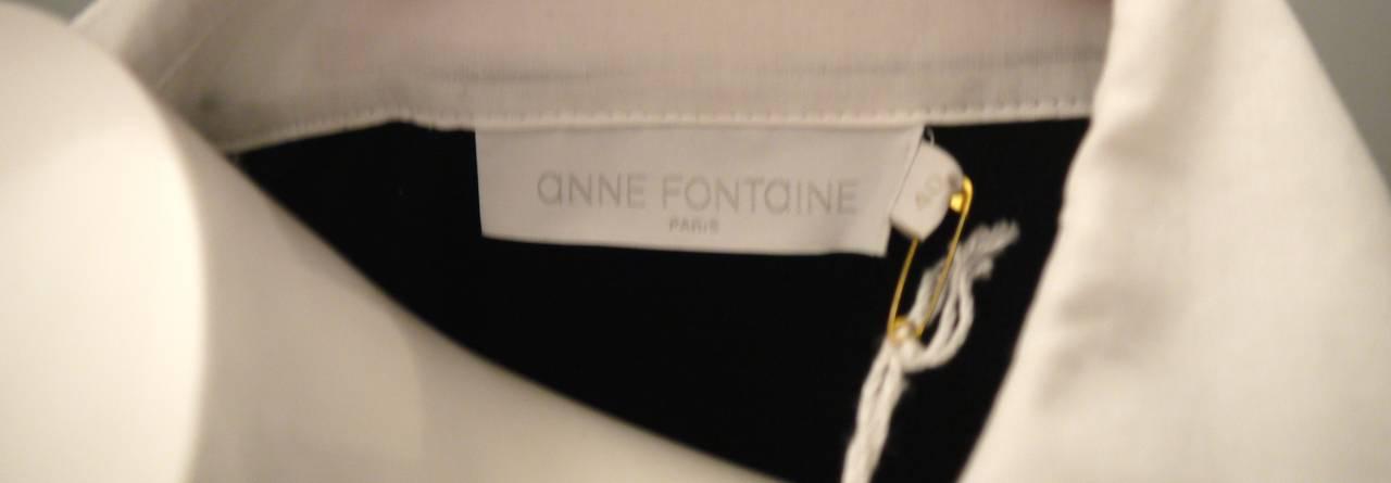 Fontaine White Blouse 20