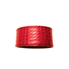 New Hermes Alligator Bracelet - Fuchsia