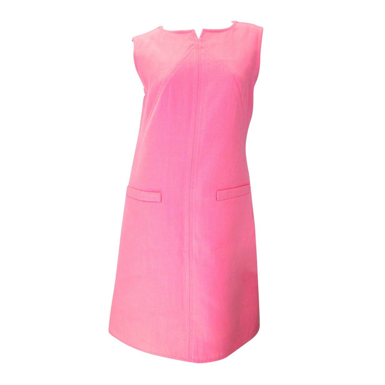 New Courreges Pink Dress - Size 40
