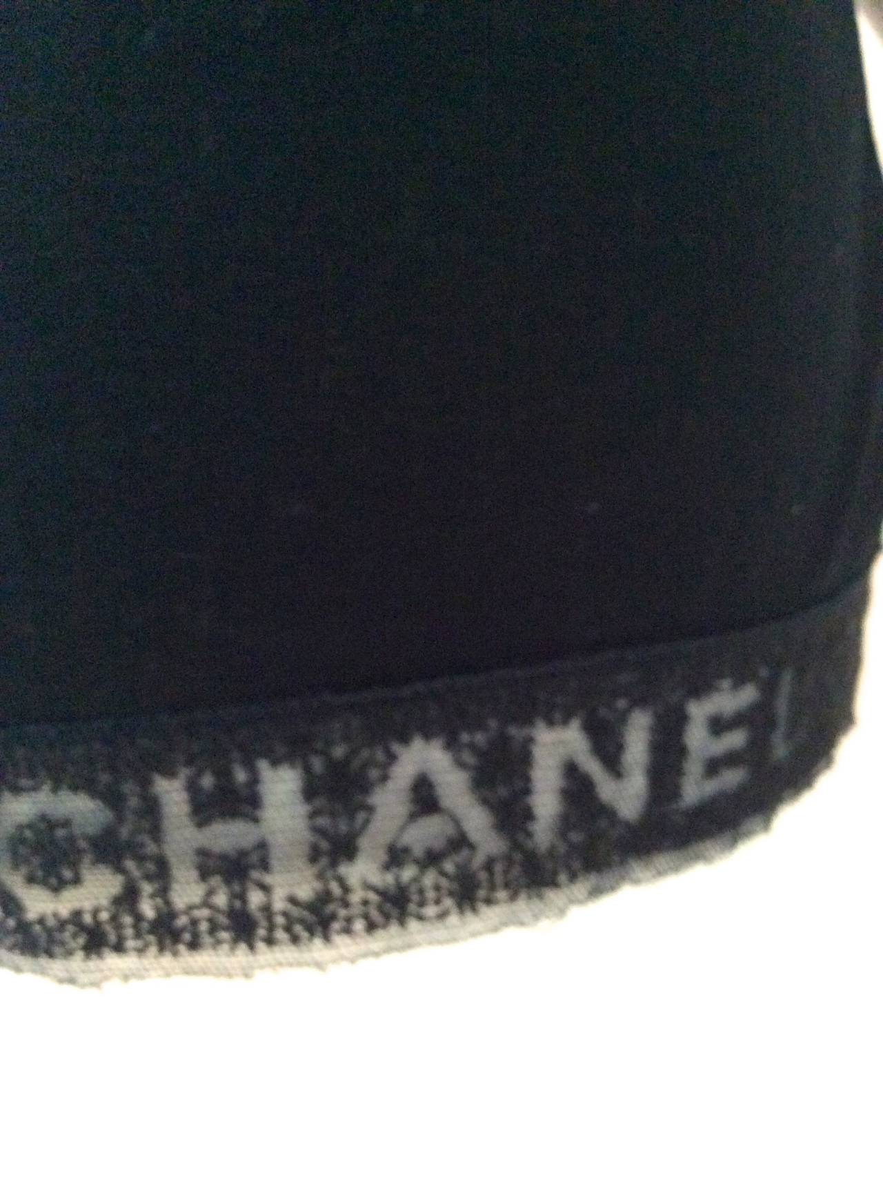 Chanel Black Tee Shirt - Size 36 3